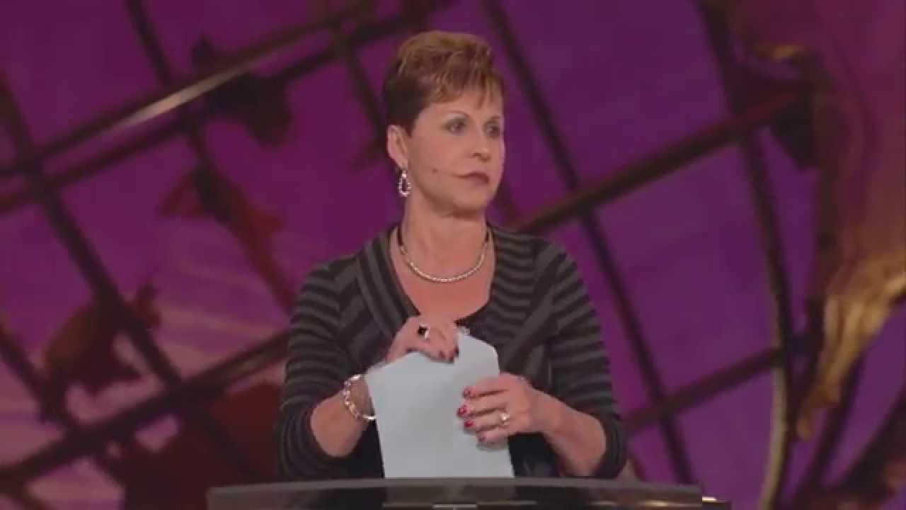 Read more about the article Joyce Meyer – Focus on The Positive Things in Life